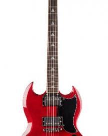 PRODIPE GUITARS GS300 WINE RED
